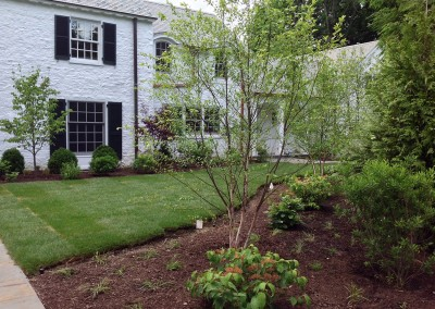 Landscape design project in Scarsdale, NY