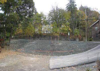 Landscape design project - before